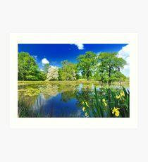 Derbyshire Landscapes Art Print