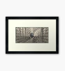 Forest Scales Framed Print