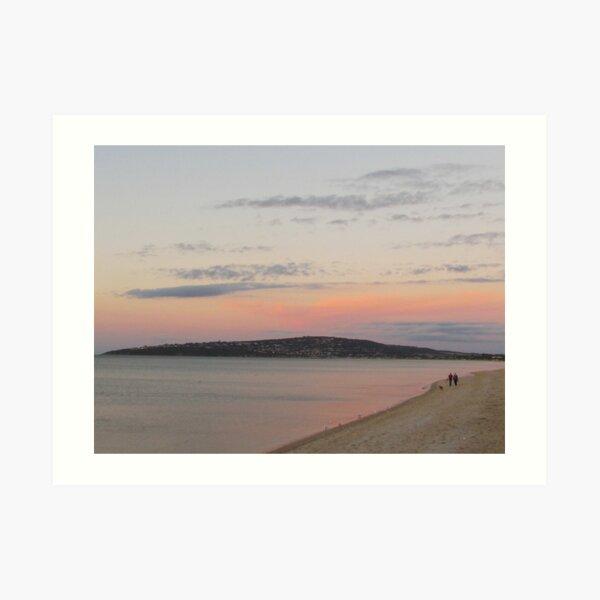 Dromana Sunset Art Print