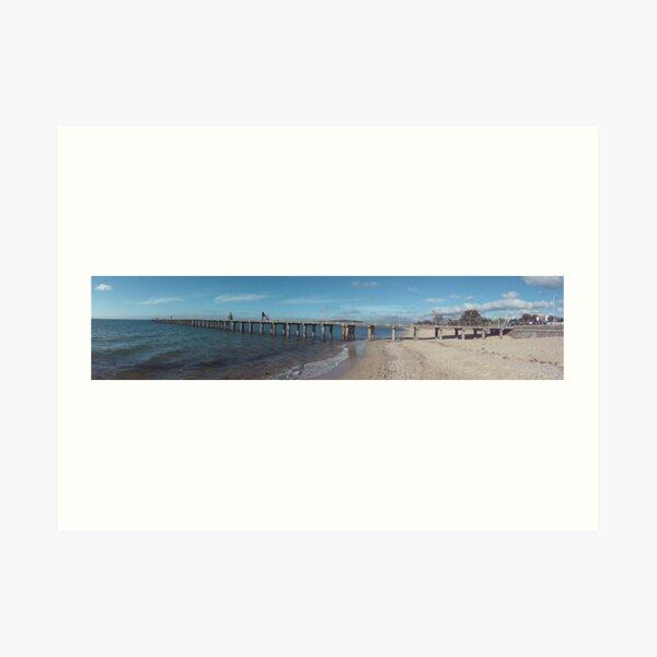 Dromana Pier Panorama Art Print