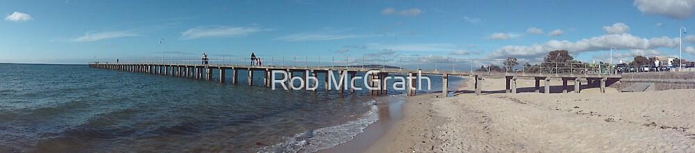 Dromana Pier Panorama by Rob McGrath