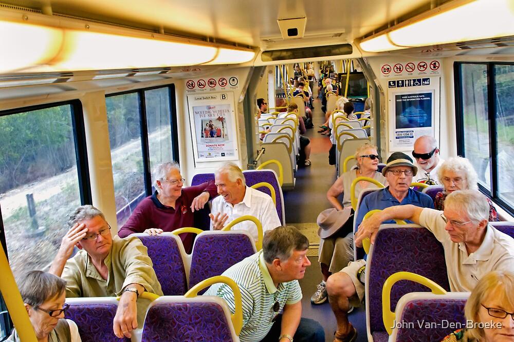 Train 1 by John Van-Den-Broeke