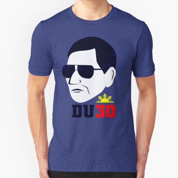 Digong Duterte - DU30 Prints Slim Fit T-Shirt