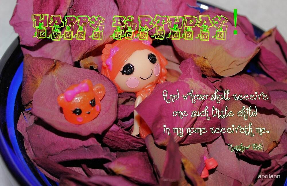 Happy Birthday - Child by aprilann