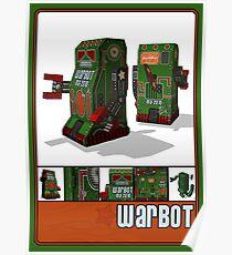 Tin Clockwork War Bot Destroy Humans Poster