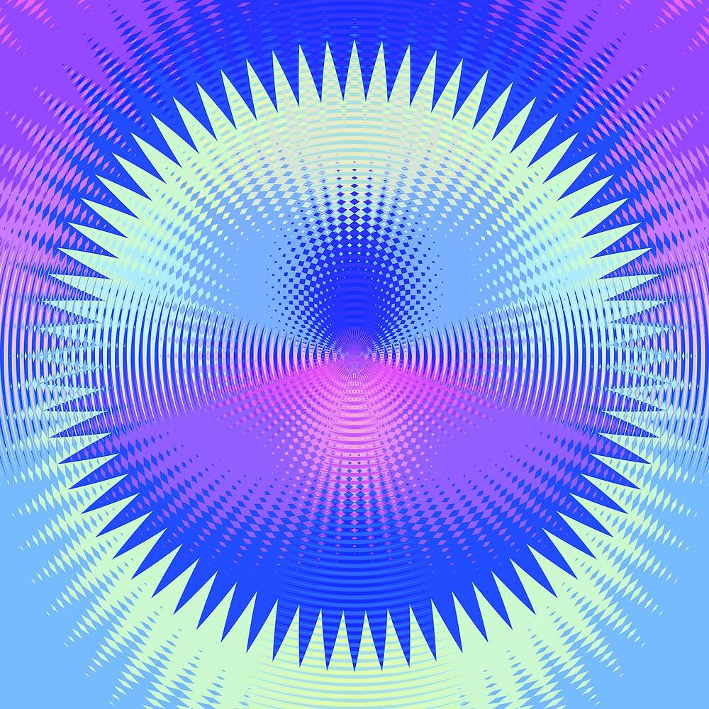 Twenty-Five Past Concentric Waves by Jay Reed
