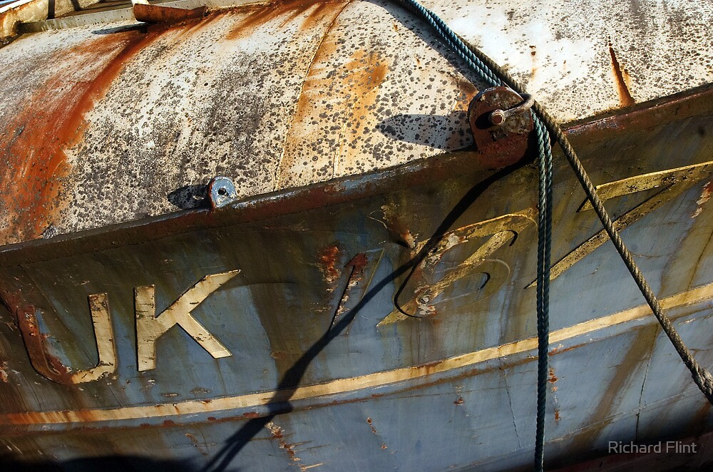 Trawler Bow Stiil-life by Richard Flint