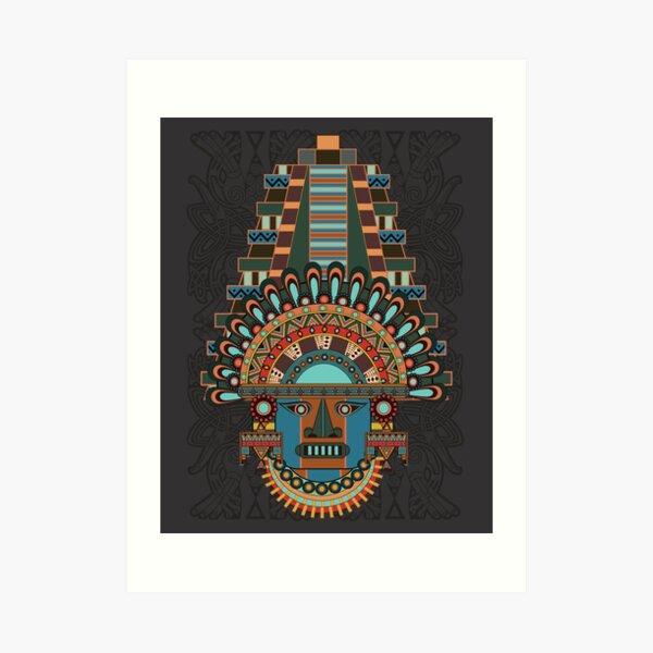 Aztec Spirit Art Print
