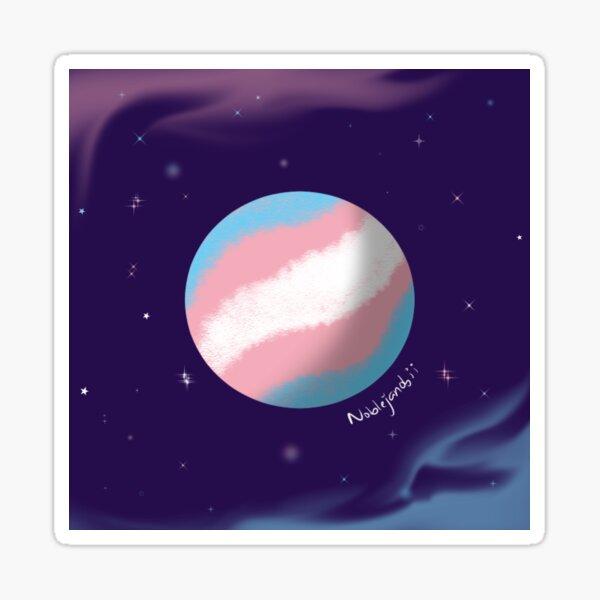 Transgender Planet Sticker