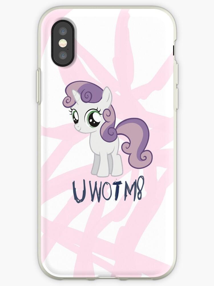 Sweetie Belle - UWOTM8 - iPhone/iPod Case by Sense Pony