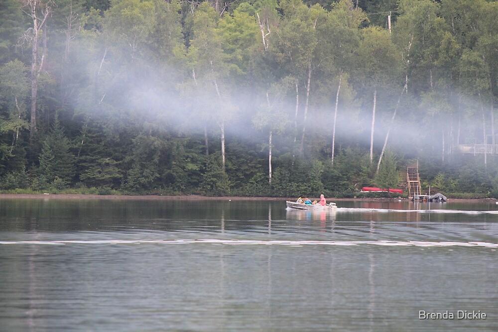 Smoke on the water by Brenda Dickie