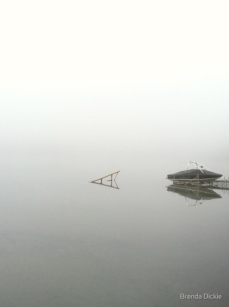 Foggy Morning by Brenda Dickie