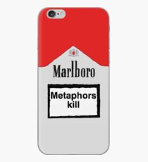Metaphors Kill iPhone-Hülle & Cover