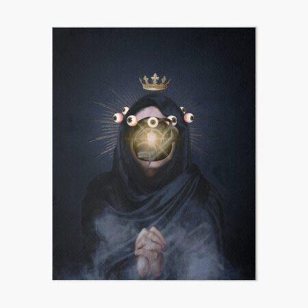 The Black Queen Art Board Print
