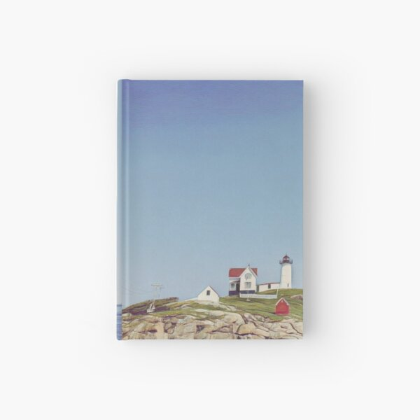 Nubble Lighthouse Hardcover Journal