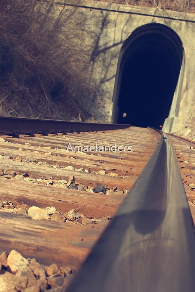 Train Tunnel by Amaelanders