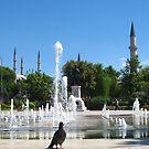Near the fountain by Maria1606