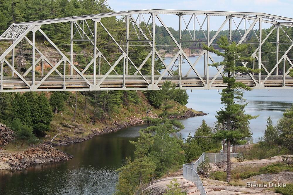 Bridge over History by Brenda Dickie