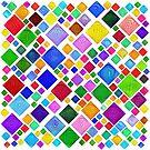 #DeepDream Color Squares Visual Areas 5x5K v1448787318 Transparent background by blackhalt