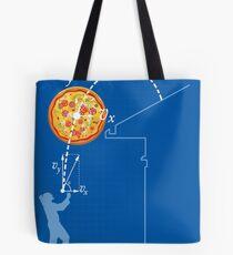 Breaking Bad Pizza Toss Tote Bag