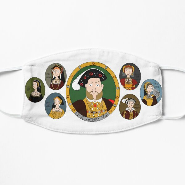 Henry VIII wives Mask