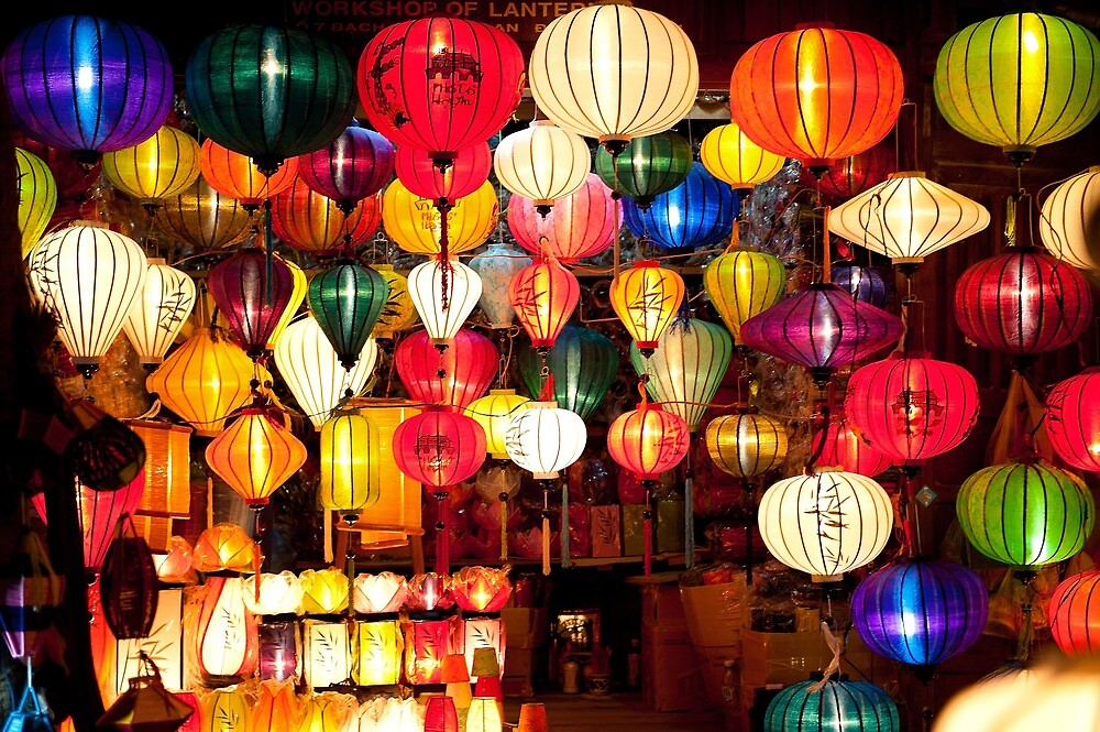 Colourful Lanterns by ericphan