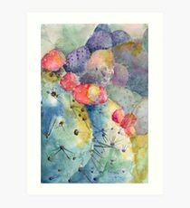 Sweetness Wrapped in Spikes Art Print
