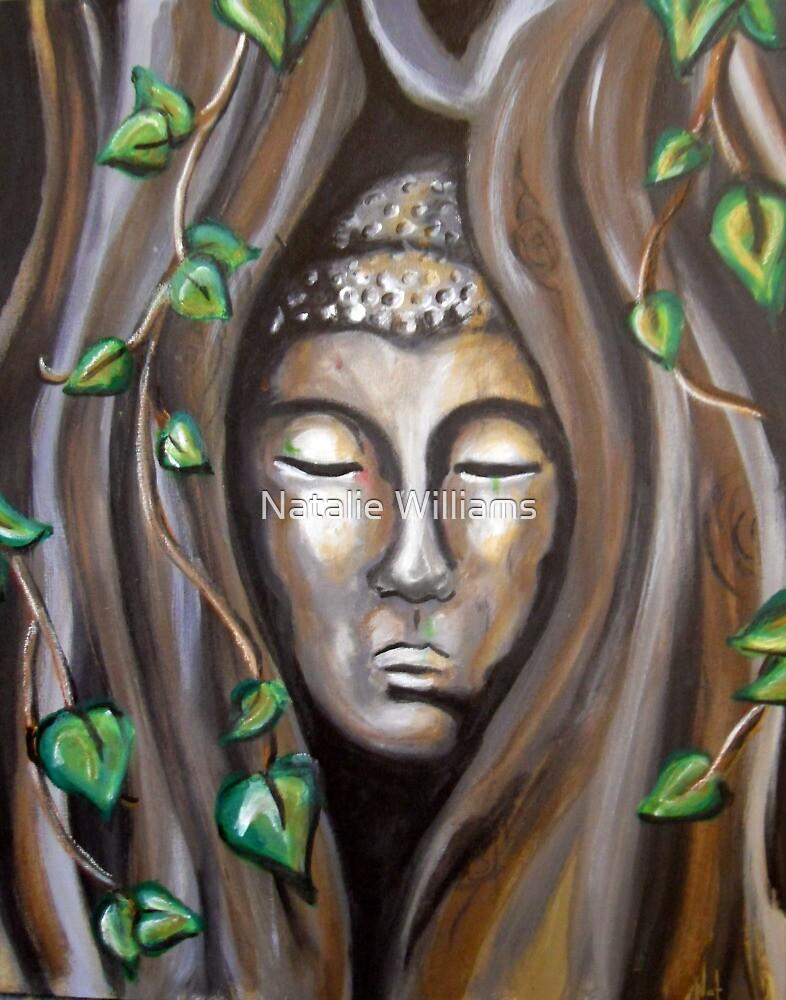 Ayutthaya Buddha by Natalie Williams