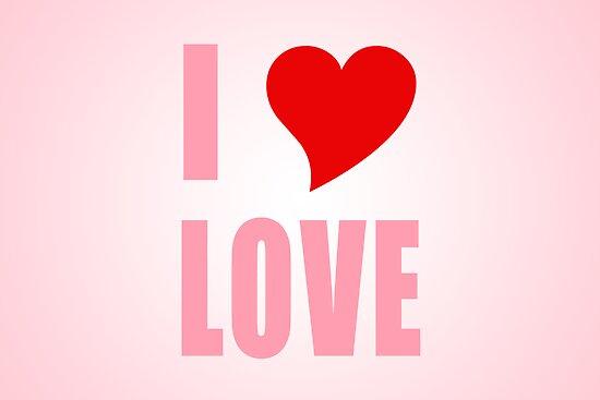 I Heart Love by JDBee