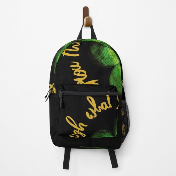 Grow through what you go through Backpack