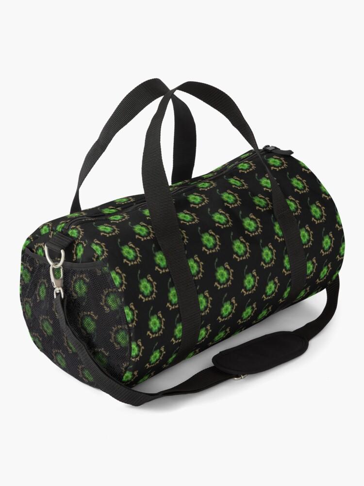 Alternate view of Grow through what you go through Duffle Bag