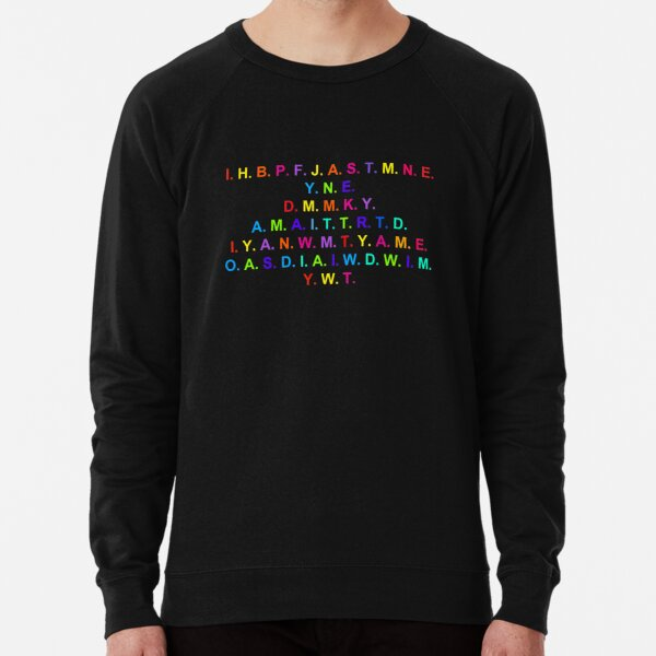 Peace, Freedom, Justice, and Security Lightweight Sweatshirt