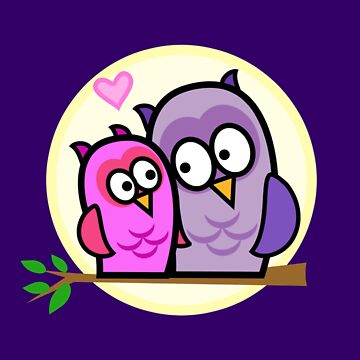 Owls in Love by JDBee