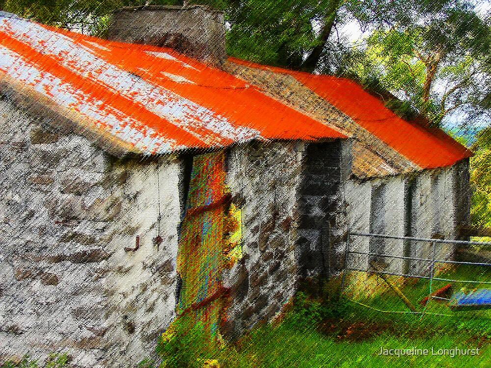 Derelict Barns by Jacqueline Longhurst