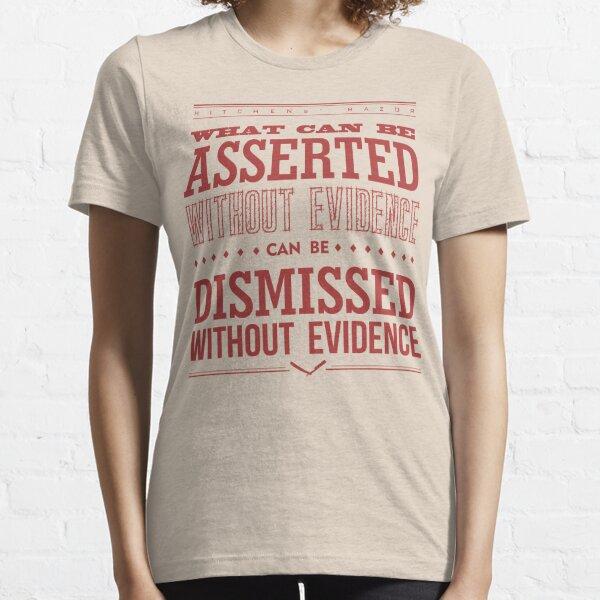 Hitchens' Razor Light Ts Essential T-Shirt