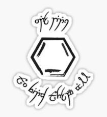 One Ring Sticker