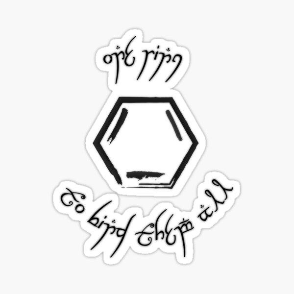 One Ring Sticker