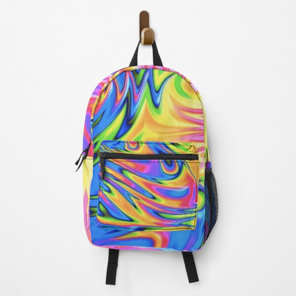 Trippy Tie Dye  Backpack