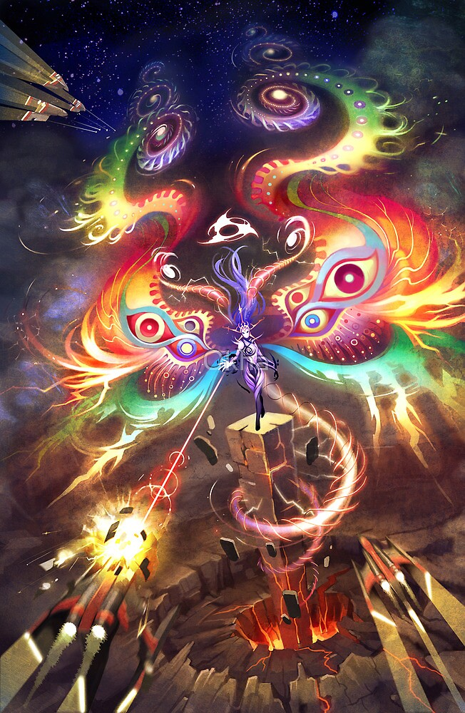 Goddess of Energy by Okha