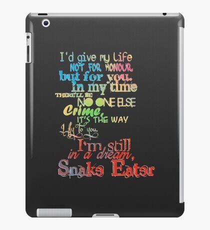 Snake Eater iPad Case/Skin