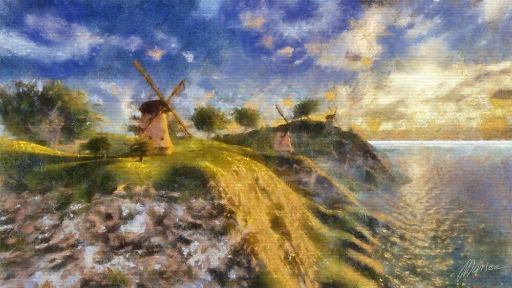 Happy mills by Marsea