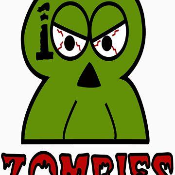 100 Zombies logo by ByronDZero
