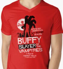 Slayer of the Vampyres Men's V-Neck T-Shirt