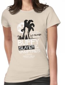 Slayer of the Vampyres Womens Fitted T-Shirt