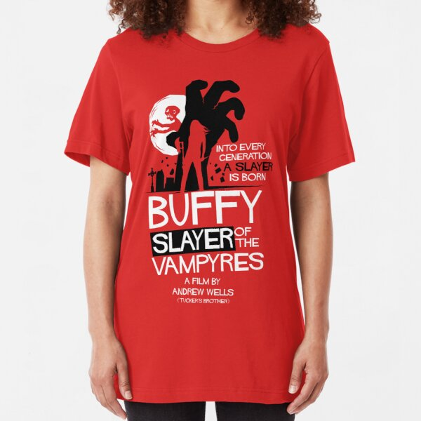 Slayer of the Vampyres Slim Fit T-Shirt