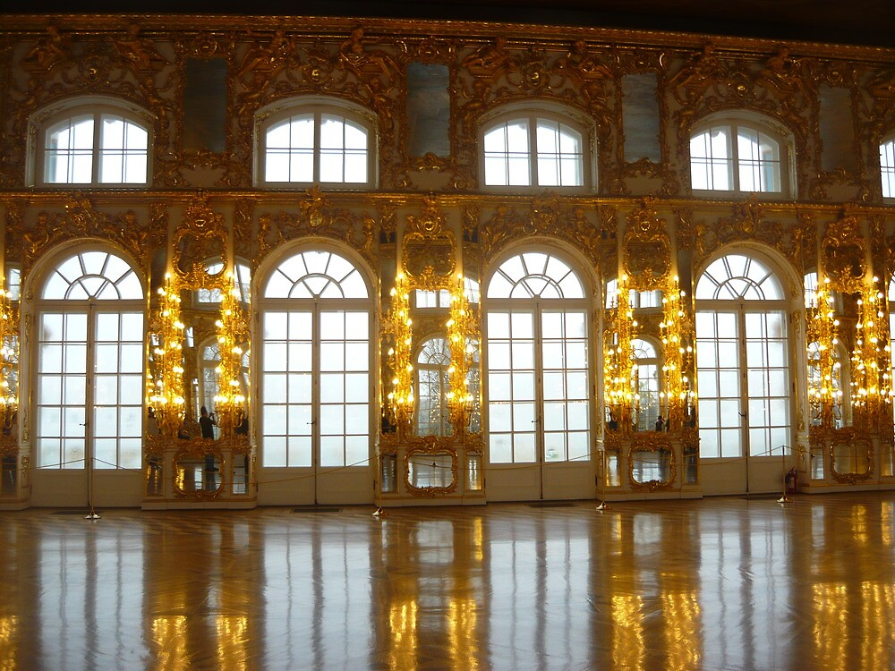 St Catherine's Palace Windows by James Banks