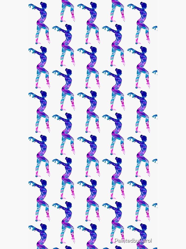 Gymnast by PaintedbyCarol