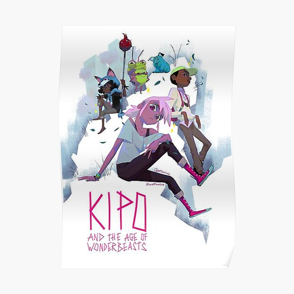 Kipo and Crew Cover  Poster
