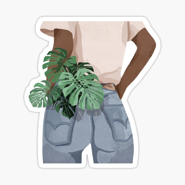 Pocket Full Of plants Sticker
