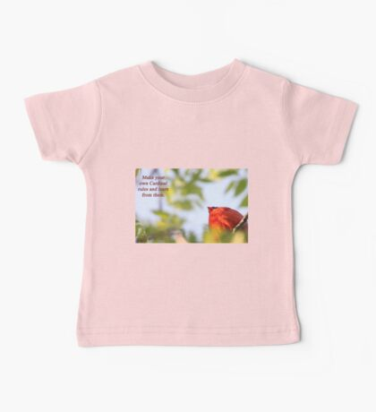 Make your own Cardinal rules and learn from them. Kids Clothes